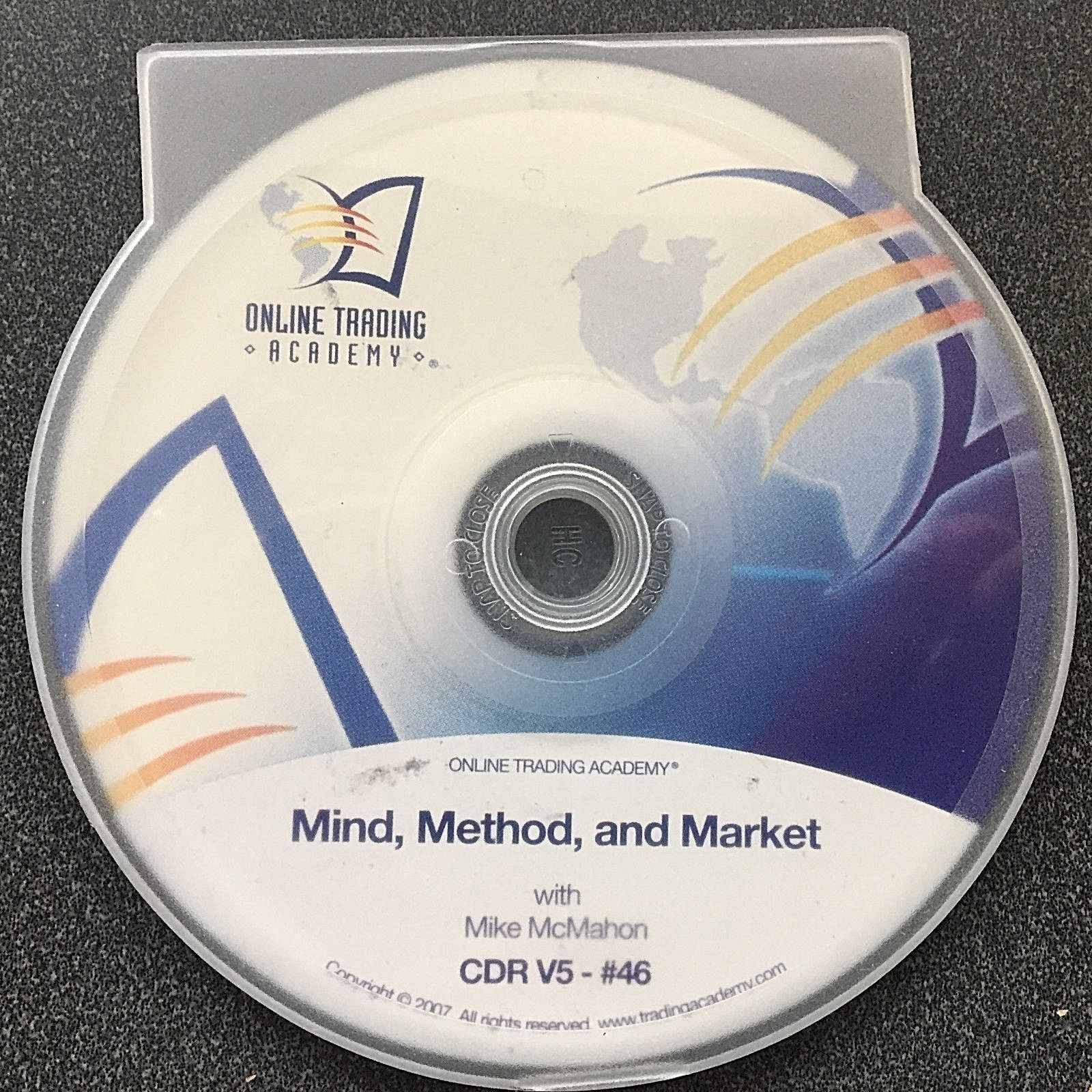 "Audio CD ""Mind,Method& Market"" Stock Trade Mike McMahon Online Trading Academy"