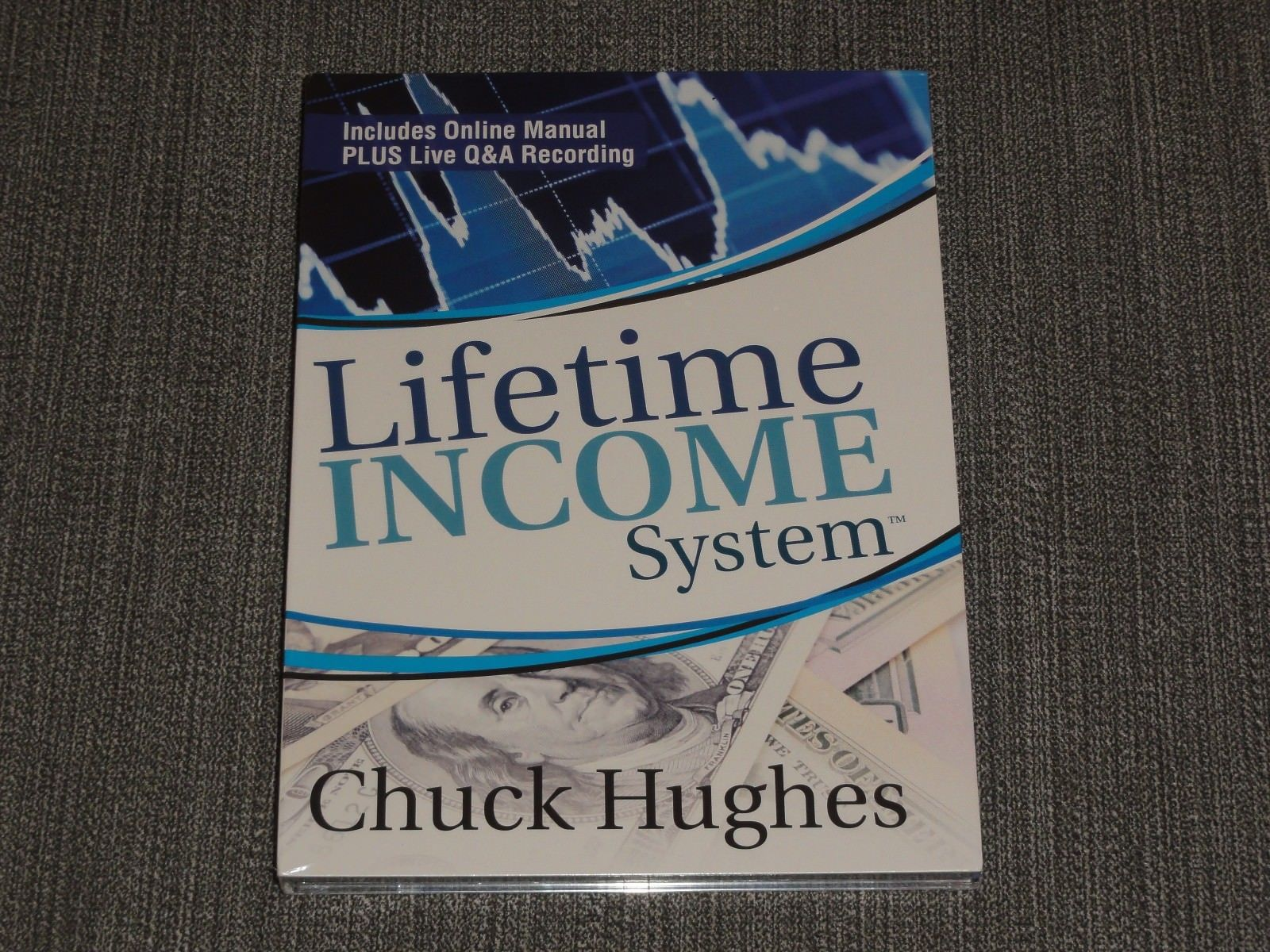 Chuck Hughes – Lifetime Income System 2 DVD options trading simpler stock market