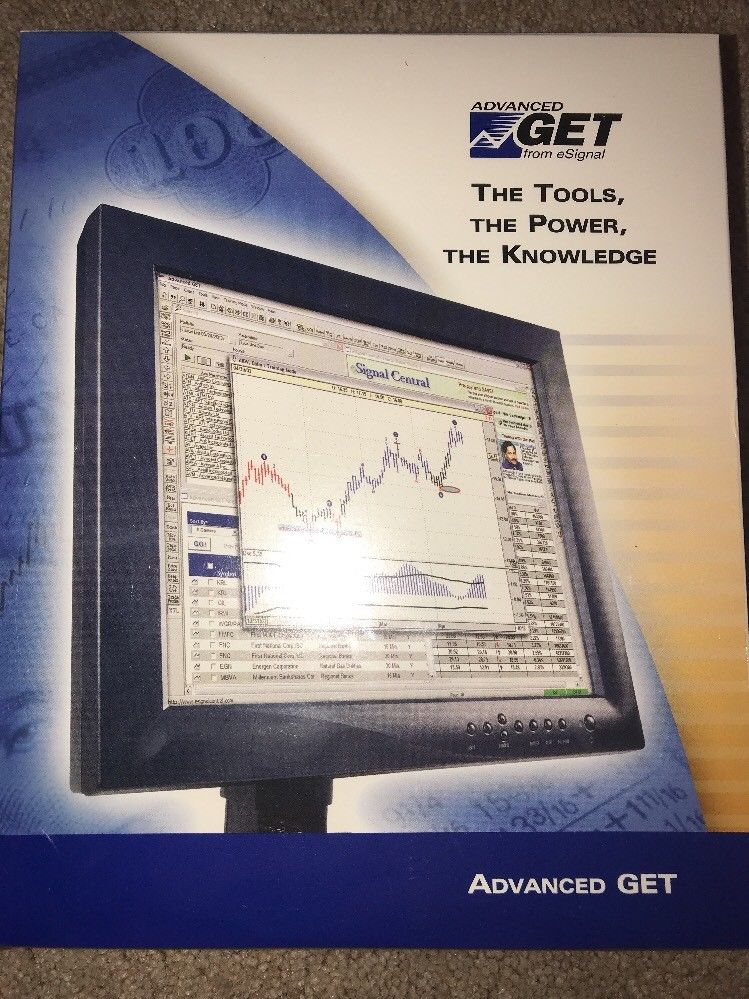 Advanced GET From E Signal Investing Software Vintage New Sealed Stock Trading