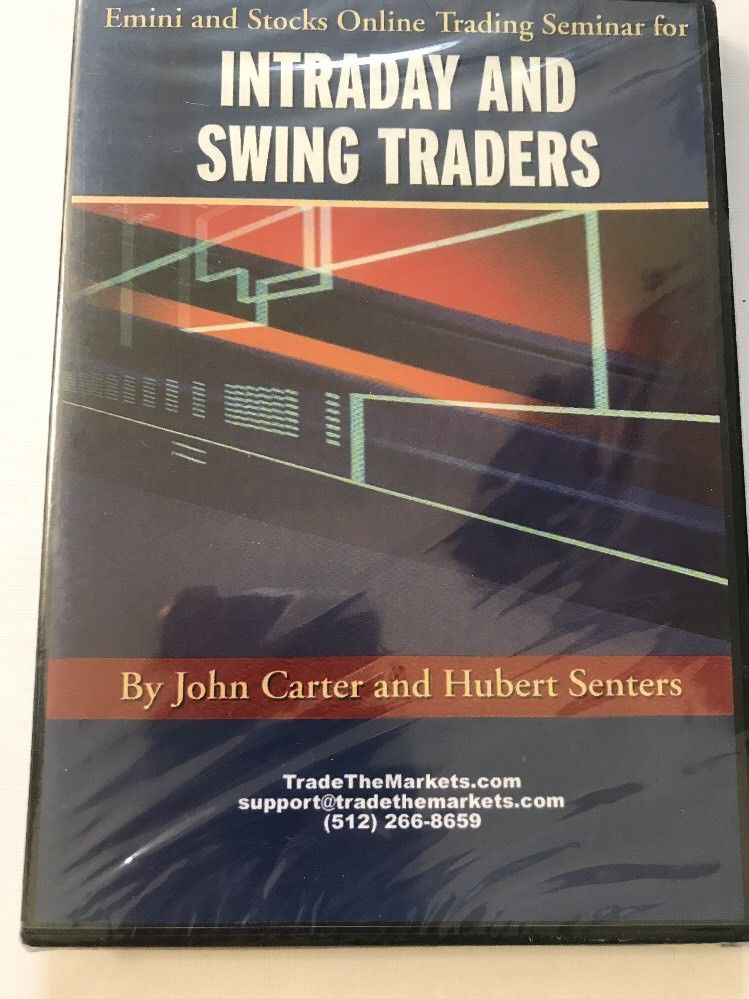 Emini and Stocks Online Trading Seminar for Intraday and Swing Traders DVD NEW