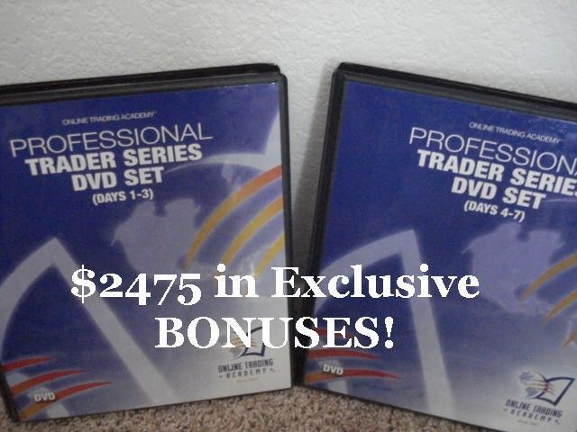 Online Trading Academy  Professional Stock Trader DVDs | Bonuses Included