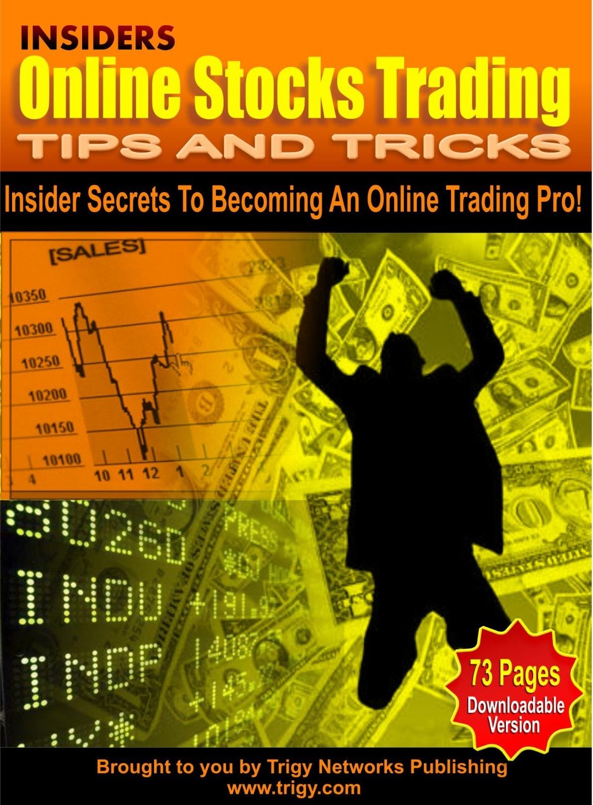 Insiders Online Stock Trading Tips and Tricks PDF eBook Master Resell Rights MRR