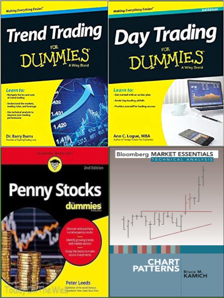 For Dummies- Penny Stocks, Trend Trading, Day Trading, Chart Patterns PDF EBOOKS