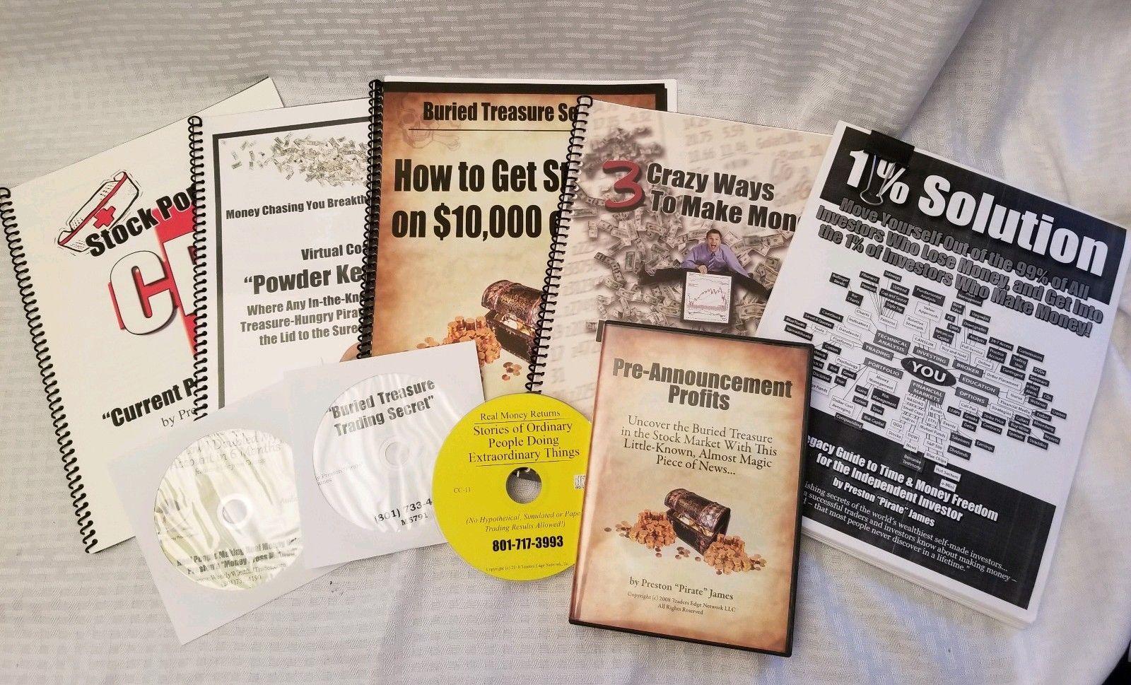 Preston James Pirate Reports trading stock market online academy nasdaq DVD CDs