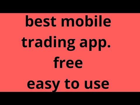 Best mobile trading applications/ app/software.