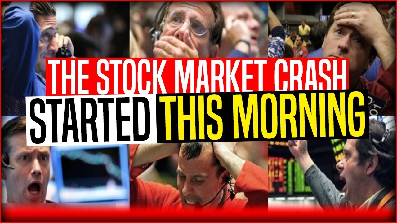 It Begins … The Stock Market Crash Started This Morning … PETER SCHIFF (9th March, 2019)