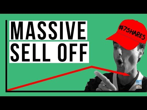 Massive U.S. Stock Market SELL OFF Continues! Sea of Red Right Now!