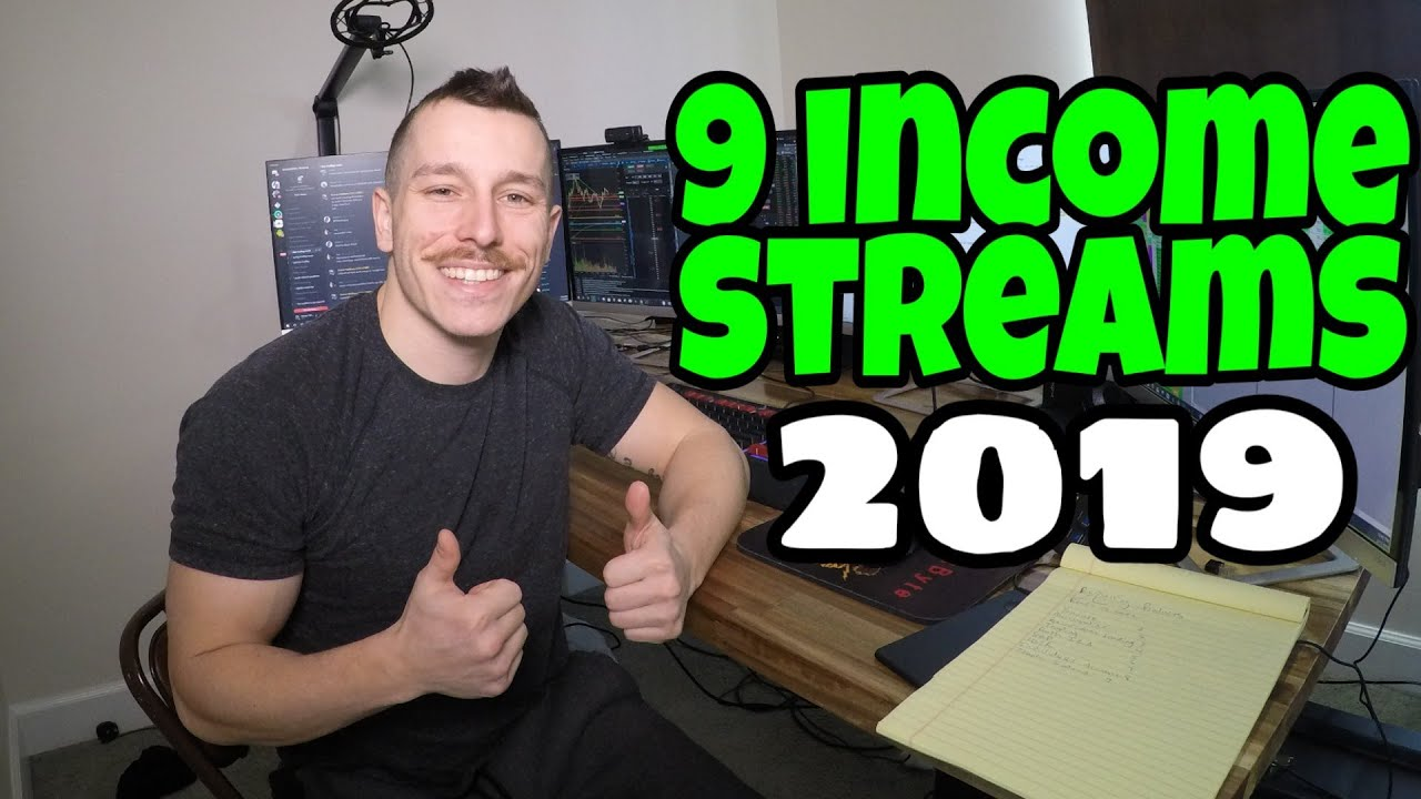 How I Built 9 Streams Of Income By Age 25 ( Getting Paid 365 Day Per Year )