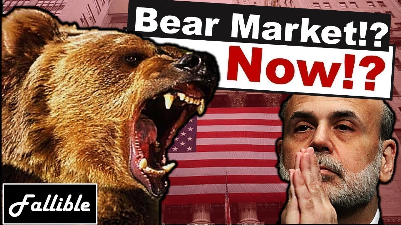 Is A 2019 Stock Market Crash Coming? Is The Bear Market Here?