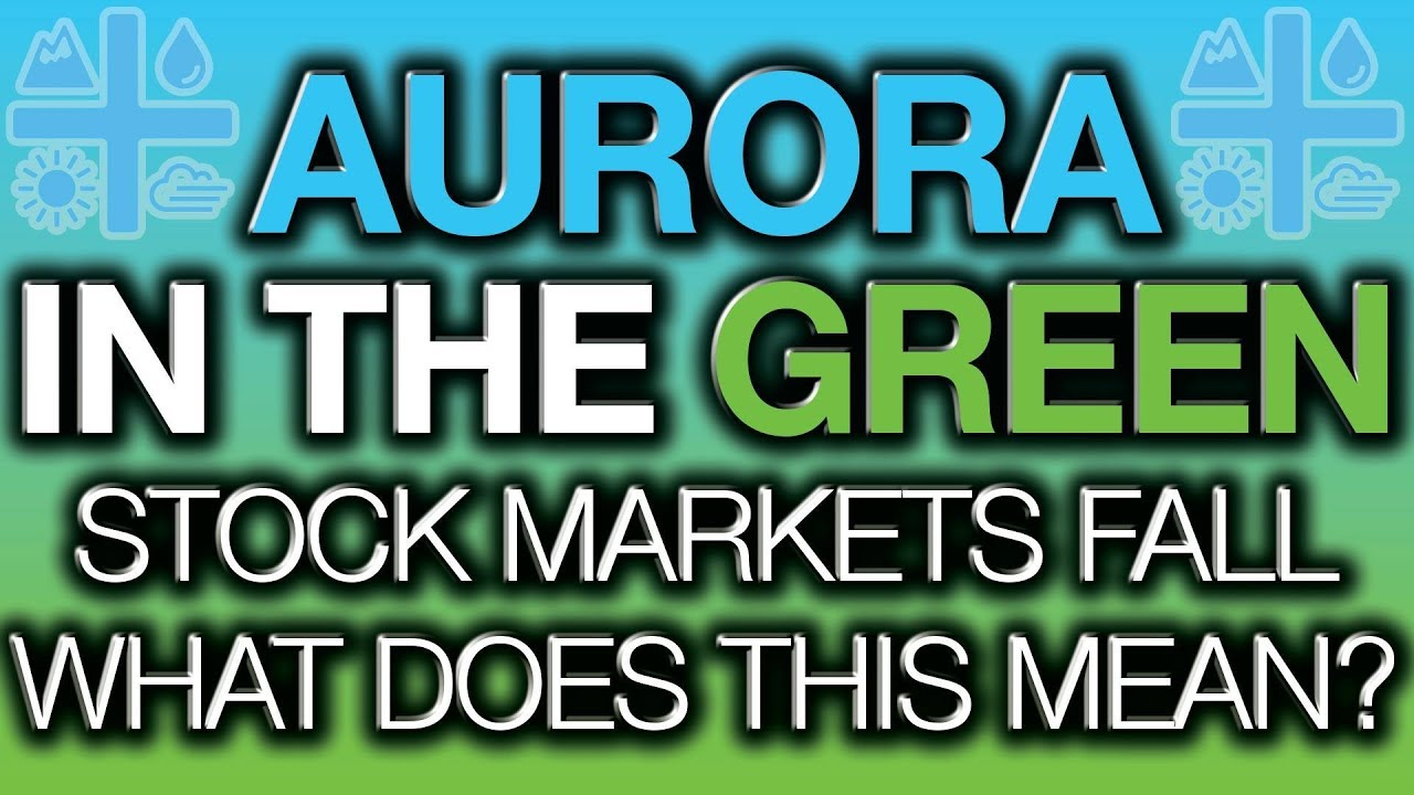 Why is Aurora Cannabis in the Green? Stock Market Sell Off, Worst Jobs Report in Ages! ACB News 2019