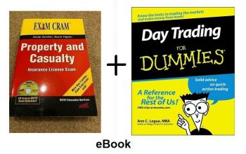 Property Casualty Business + Day Trading For Dummies Idiots Guide EB00KS Stocks 1