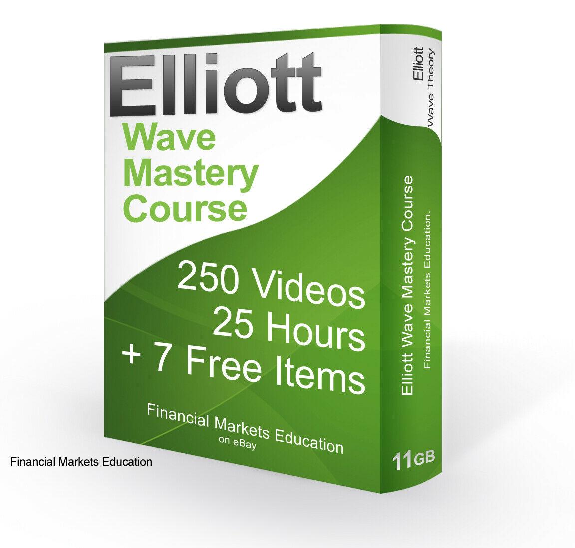 Elliott Wave Trading Course: 250 Videos! + 7 FREE BONUSES! FOREX