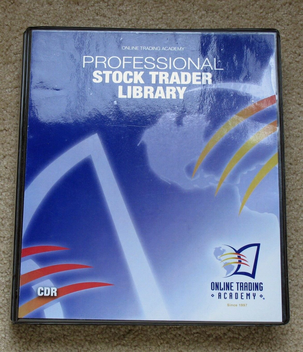 Online Trading Academy Professional Stock Trader Library 16 CD Set Inc. Options