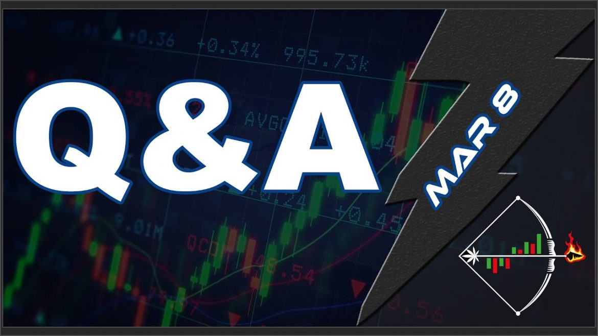 Mar 8 – Q&A (Stock Market Stock Chart Review)