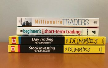 Stock Investing For Canadians For Dummies lot of 4, Short-term trading + more 2