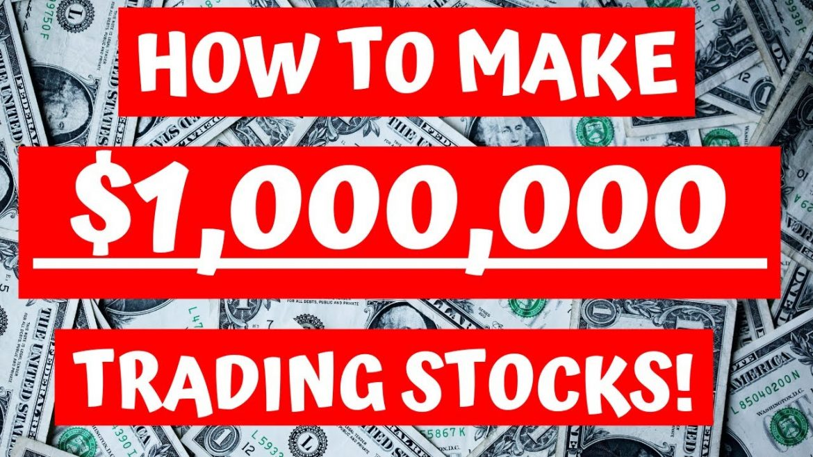 How Anyone Can Make $1,000,000 Just By Trading Stocks! (NOT CLICKBAIT!!) – Robinhood App