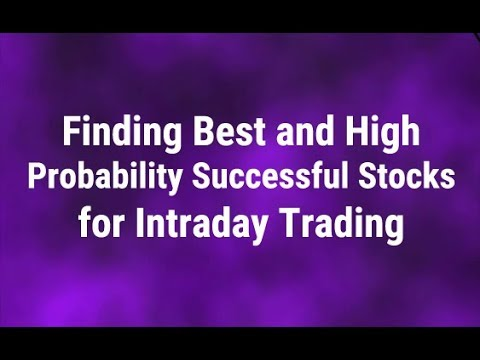 How to find the best and high probability successful stocks for Intraday Trading by Paisa To Banega