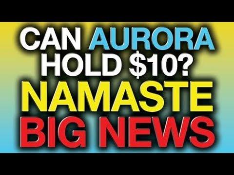 NAMASTE Stock NEWS, Aurora Cannabis (ACB) Analysis, Stock Market News 2019 (Re-Edited)