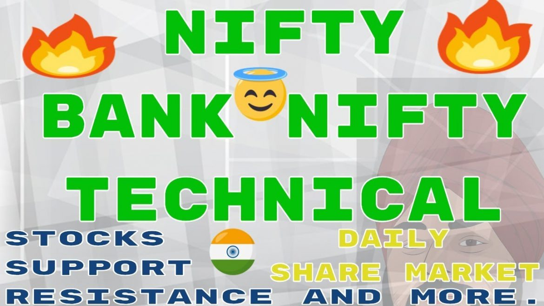 Nifty & BankNifty (SR) Intraday Technical 🔥🔥 Maruti HDFC Bank Bajaj Auto #StockMarket #54