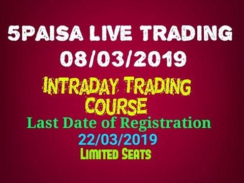 5Paisa Live Trading  08/03/2019