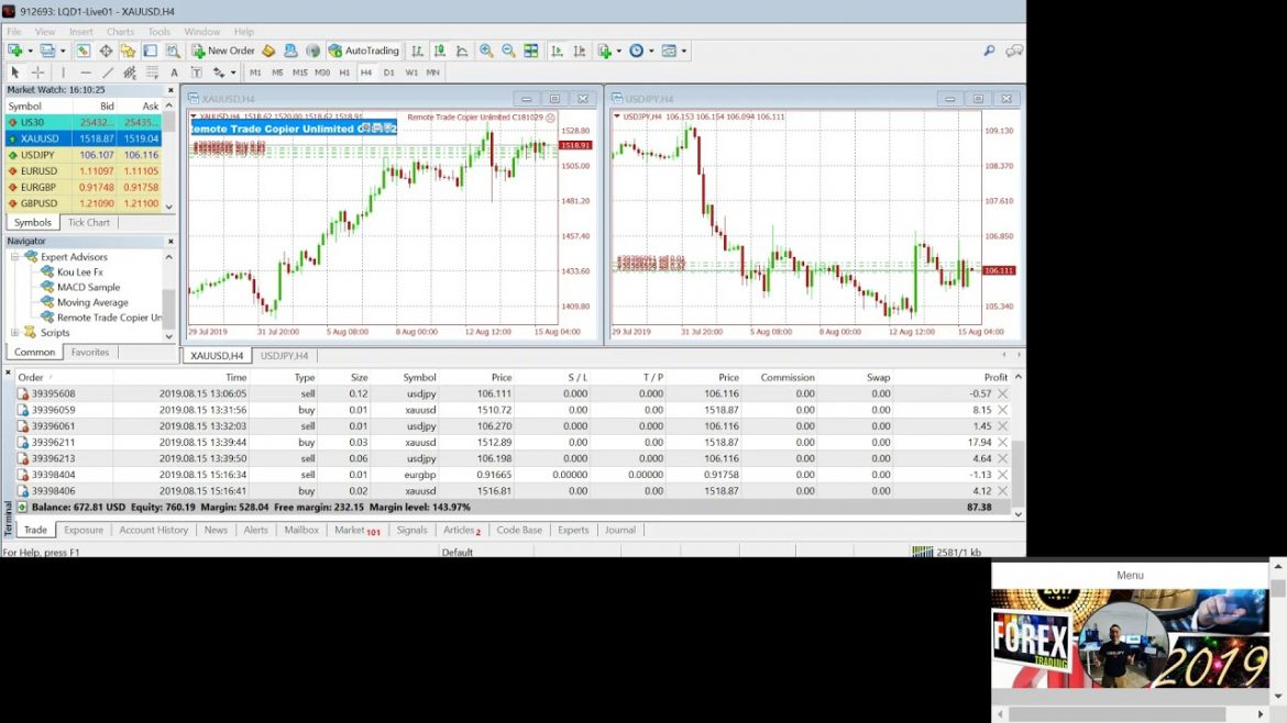 Forex Live Trading Software