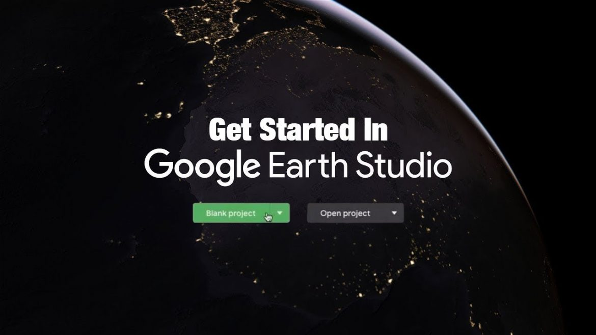 Get started in Google Earth Studio