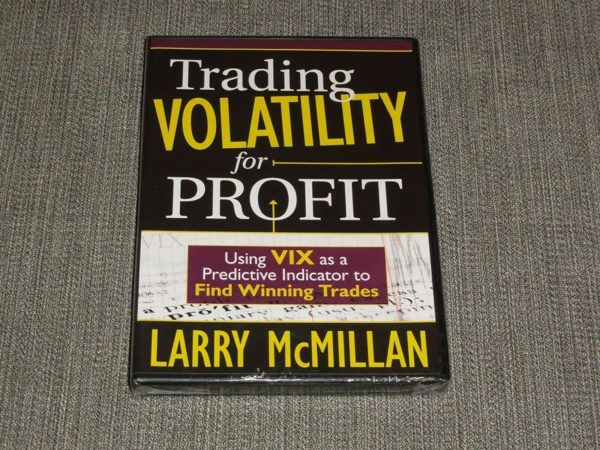 Larry McMillan – Trading Volatility For Profit DVD stocks options academy online