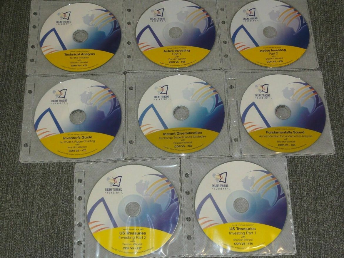Online Trading Academy – Active Investor Library 8 CD Set stock market options