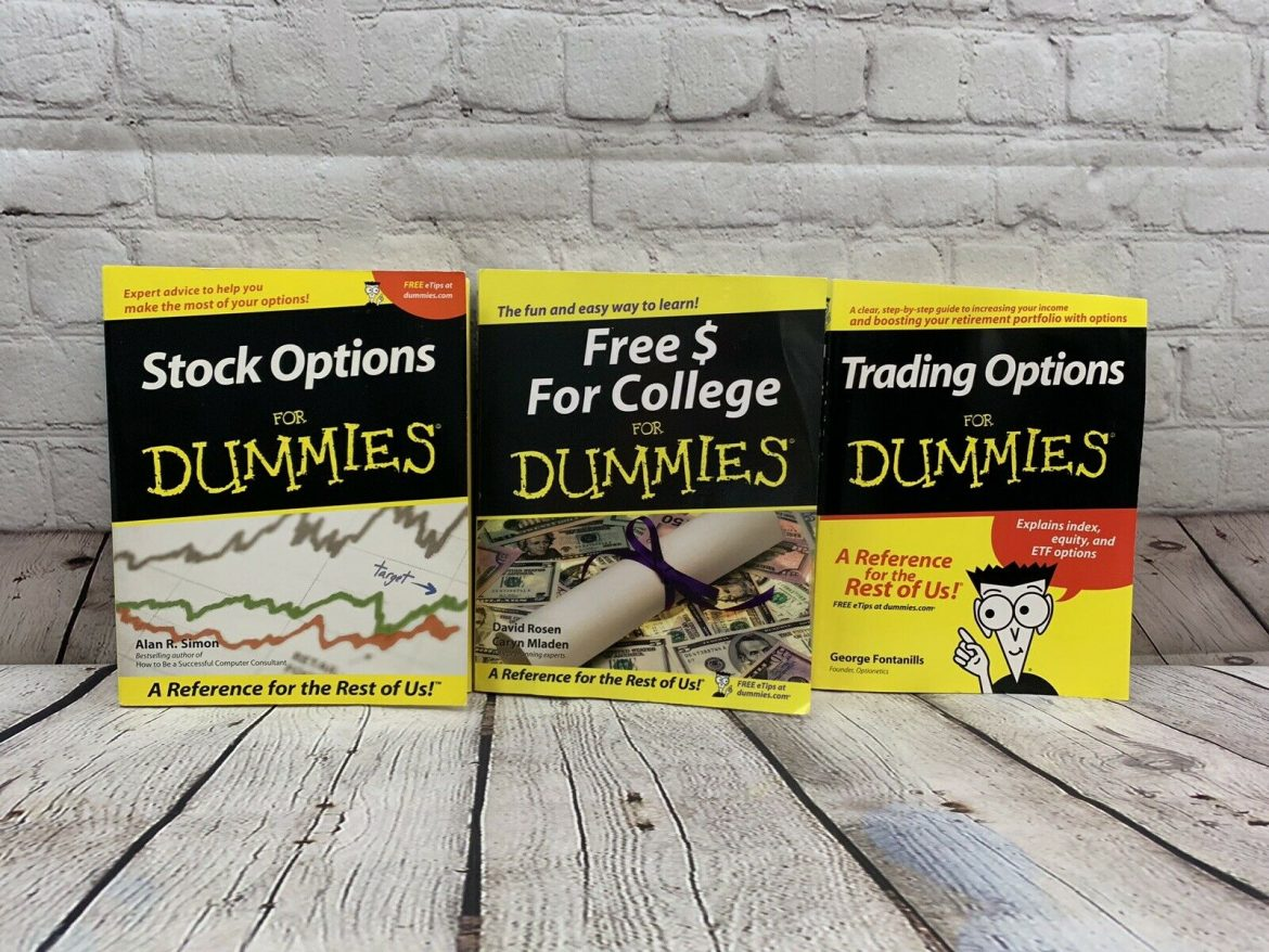 3 For Dummies Books Stock Options Free $ For College And Trading Options