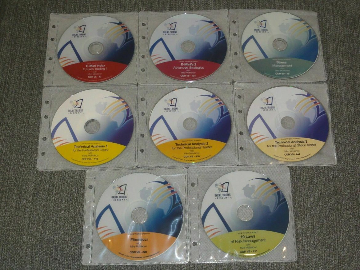 Online Trading Academy Professional E-Mini Trader Library 8 CD Set stock market
