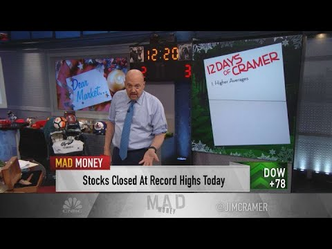 The 12 gifts Jim Cramer wants the stock market to deliver in 2020
