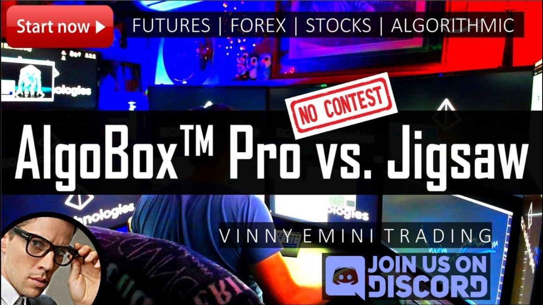✅ AlgoBox Pro vs. Jigsaw Day Trading Software Emini Futures | NO CONTEST!