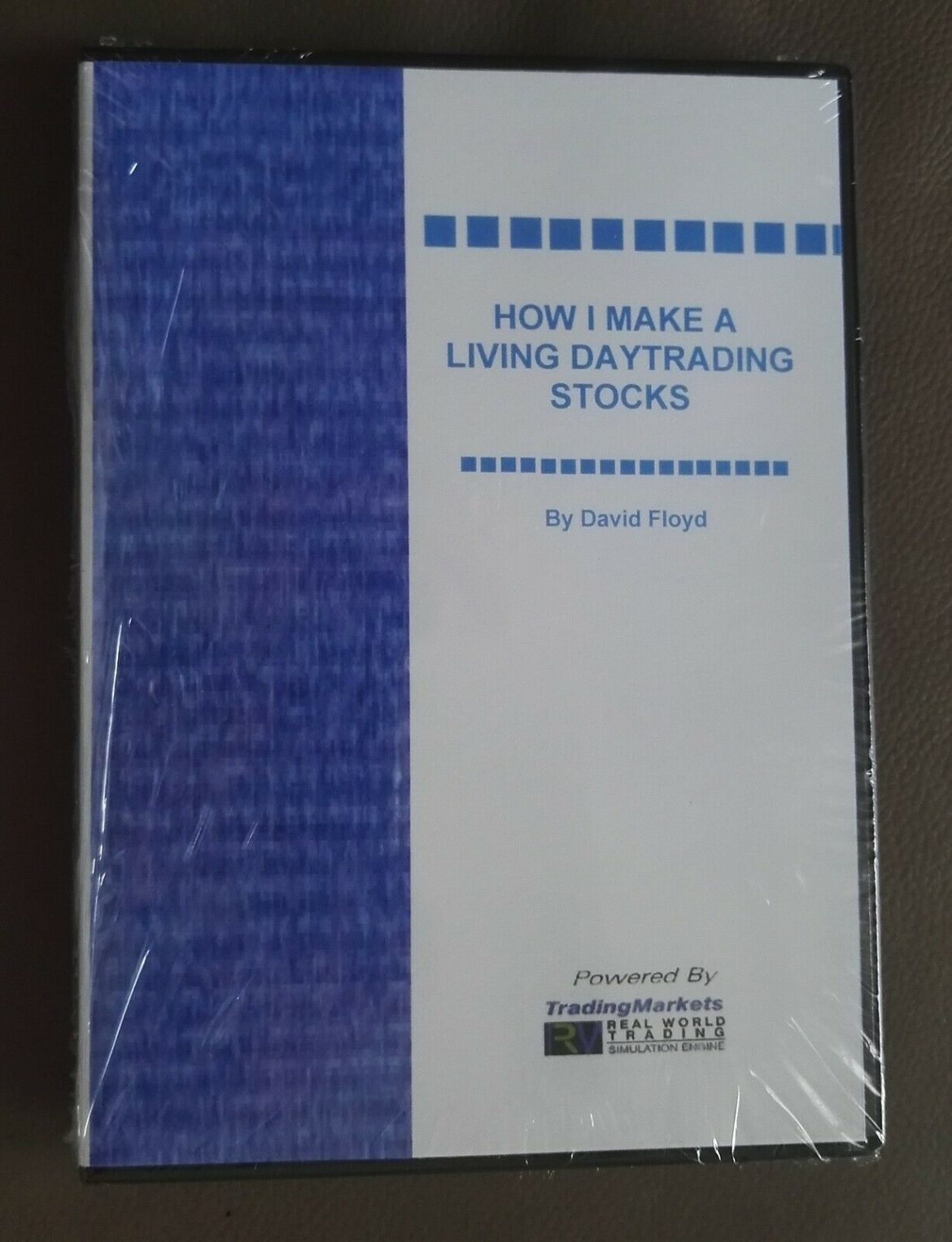 Sealed DVD – David Floyd How I make a Living Daytrading Stock Trade for a Living