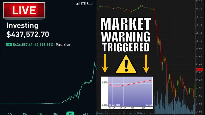 STOCK MARKET WARNING TRIGGERED – TRADE WAR – Day Trading Live, Option Trading, & Stock Market News