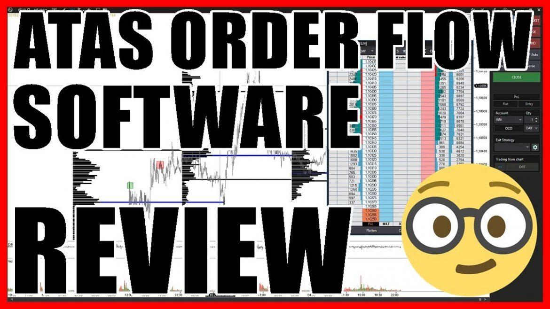 ATAS Order Flow Trading Software Review 2019 // Platform Test