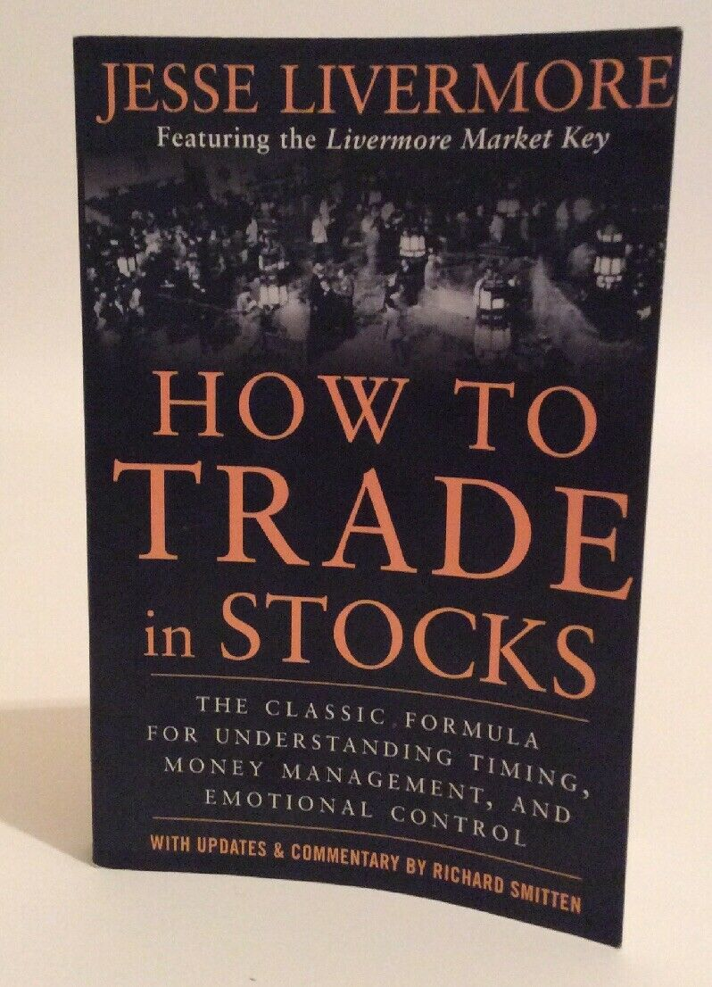 How to Trade In Stocks by Jesse Livermore Free Shipping!!