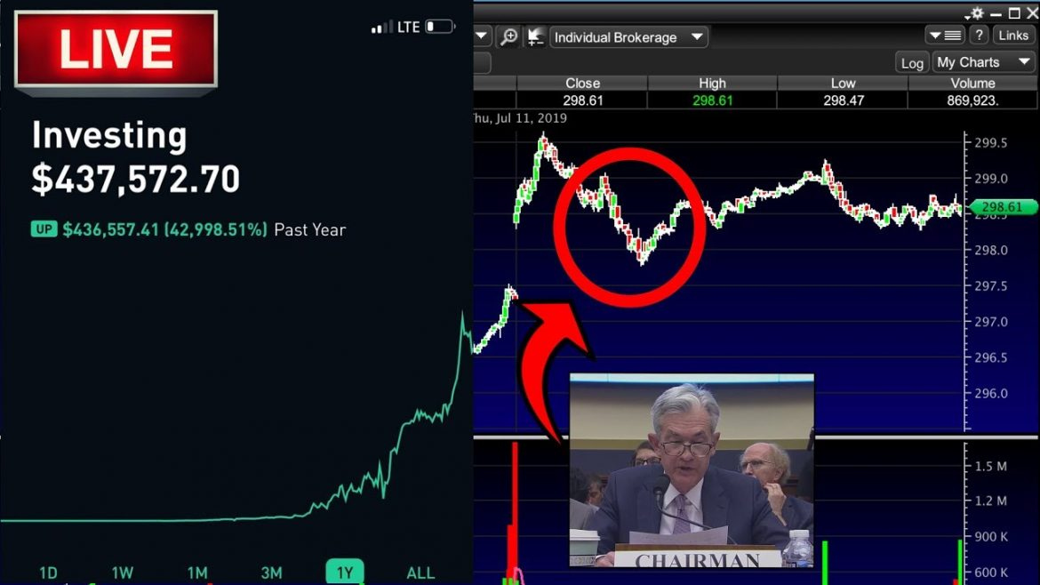 GOING FOR A MILLION – JNJ PROBE! -Live Trading, Day Trading, Option Trading LIVE & Stock Market News