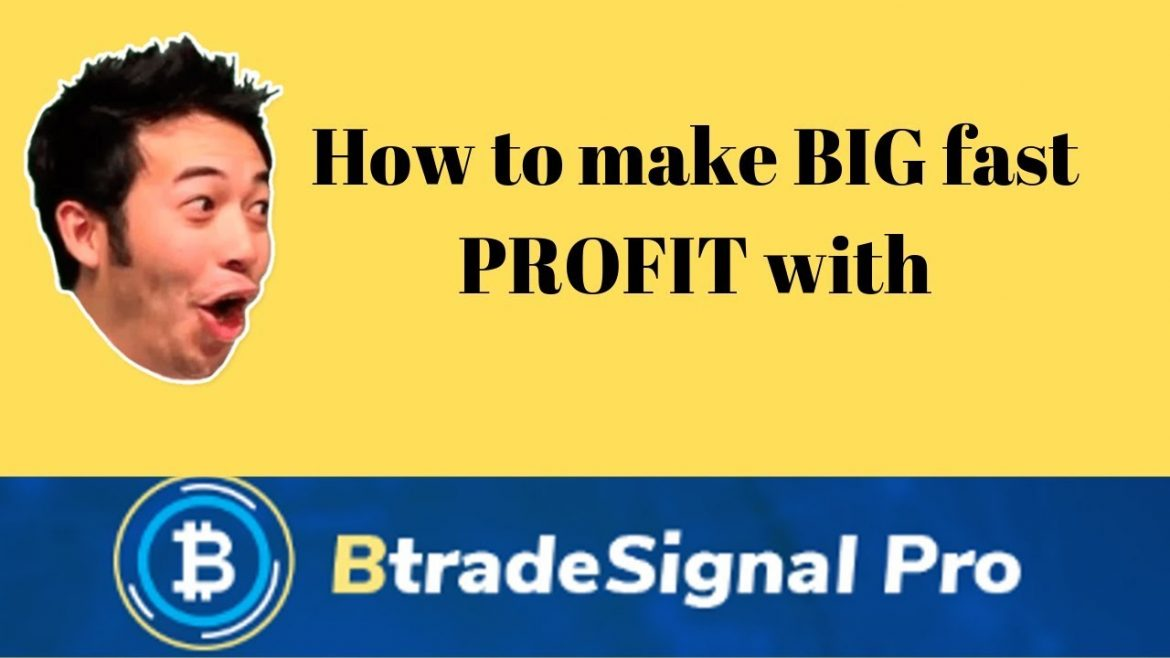 How To Make Big Fast Profit With Btrade Signal Pro Trading Software In 2019