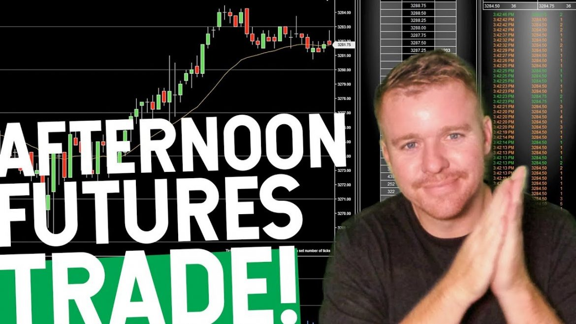 AFTERNOON FUTURES DAY TRADE! MARKET IS NUTS!