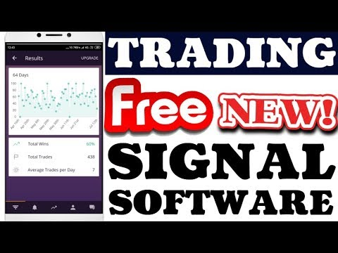 100% Working Free New Signals Software For Easy Trading With Buy Sell Signals  [2019] | Hindi
