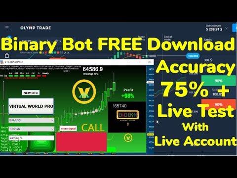 Free Download Binary Option Bot- Robot// Auto Trading Signal Software   2019   Hindi
