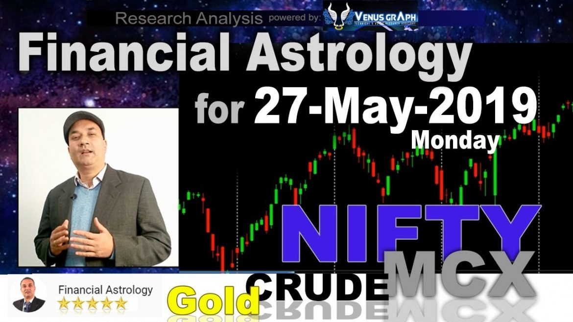 Financial Astrology | Stock Market for 27-May-2019 | आर्थिक शास्त्र | Nifty MCX Study 🔥 🔥