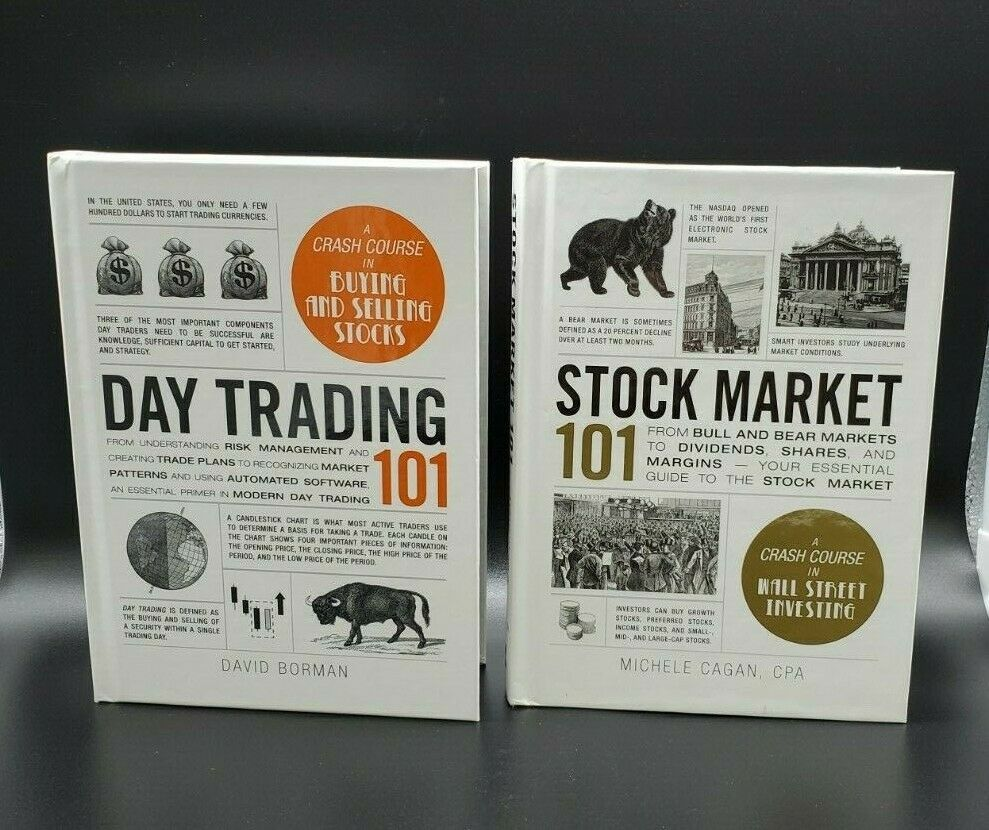 Day Trading 101 & Stock Market 101 book set