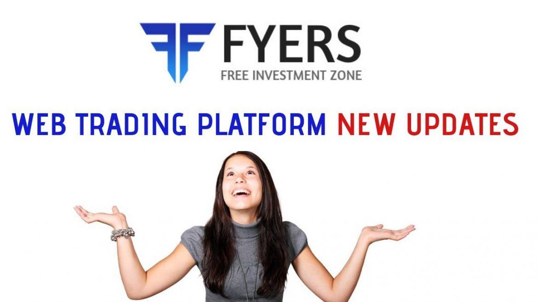 Fyers Web Trading Platform  Latest Updates :-Best Web Trading Platform Forever
