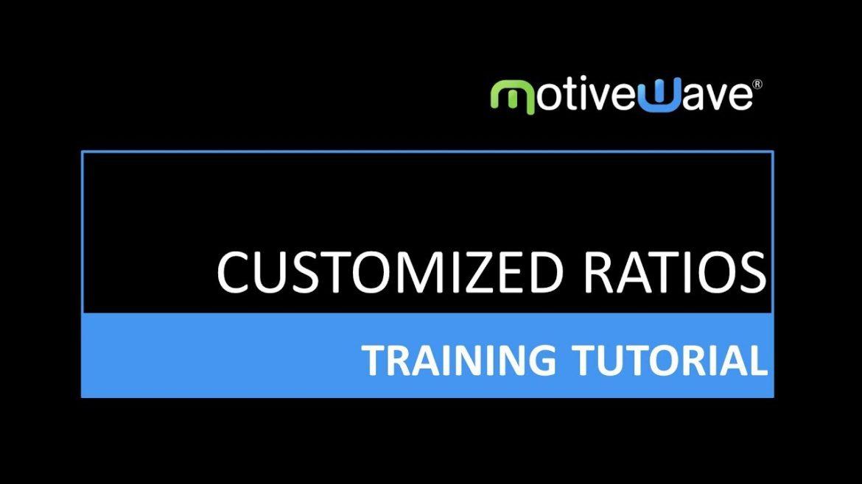 Customized Fibonacci Ratios in MotiveWave Trading Platform