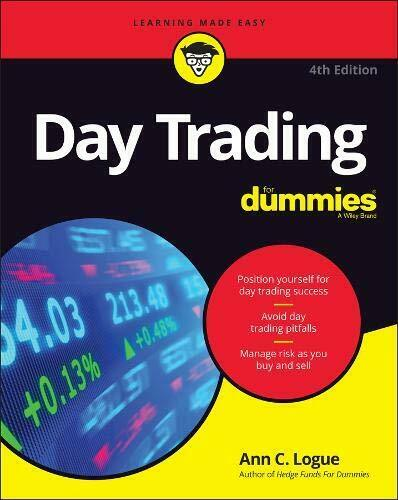 Day Trading For Dummies by Logue  New 9781119554080 Fast Free Shipping–