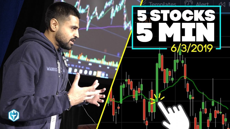 5 Stocks in 5 Minutes   Arsh's Trade Analysis