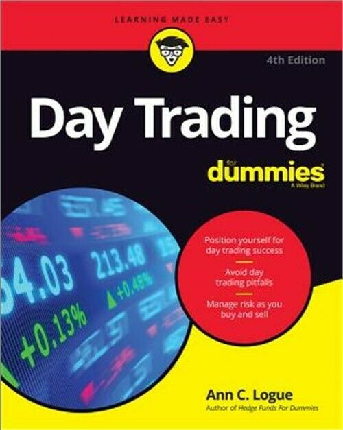Day Trading for Dummies (Paperback or Softback)