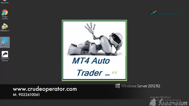 MT4 AUTO ROBO TRADING SOFTWARE IN MCX, NSE, BSE, F&O / CRUDE OPERATOR