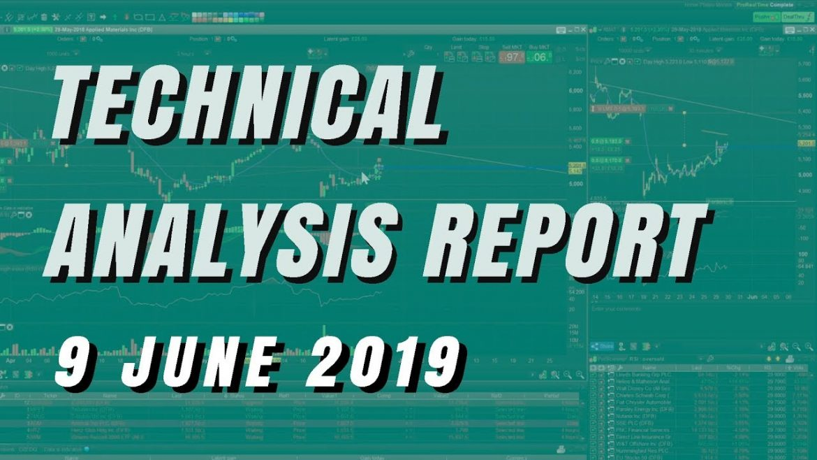 ⭐NEW WEEK NEW CHARTS! | Stock Market Technical Analysis Report (9th June 2019)
